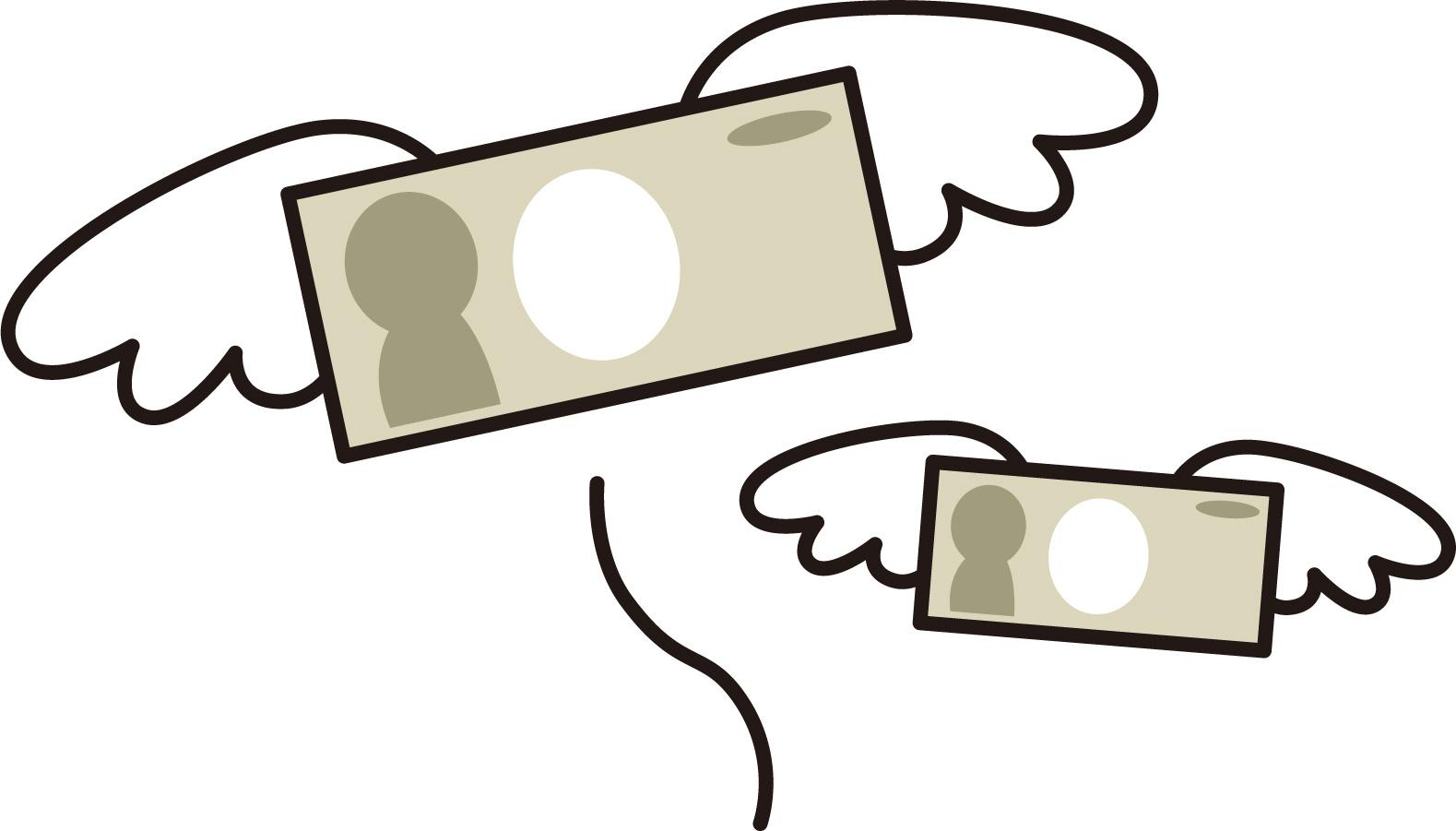 PayPayはお金を気にしていない図